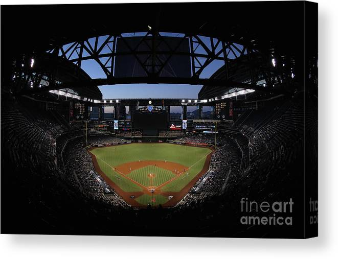 People Canvas Print featuring the photograph Archie Bradley by Christian Petersen