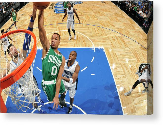 Nba Pro Basketball Canvas Print featuring the photograph Avery Bradley by Fernando Medina