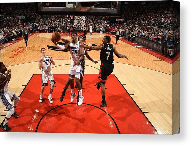 Nba Pro Basketball Canvas Print featuring the photograph Buddy Hield by Ron Turenne