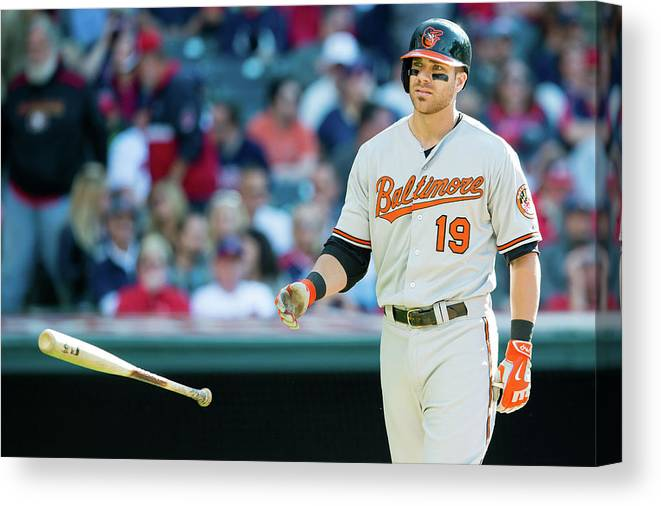 Three Quarter Length Canvas Print featuring the photograph Chris Davis by Jason Miller