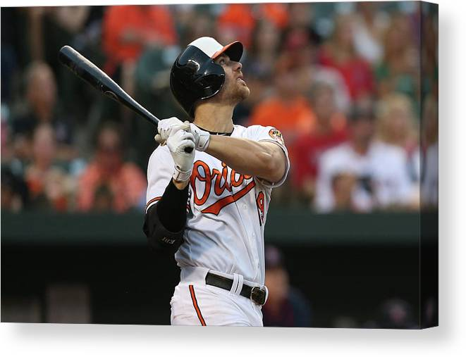 People Canvas Print featuring the photograph Chris Davis by Patrick Smith