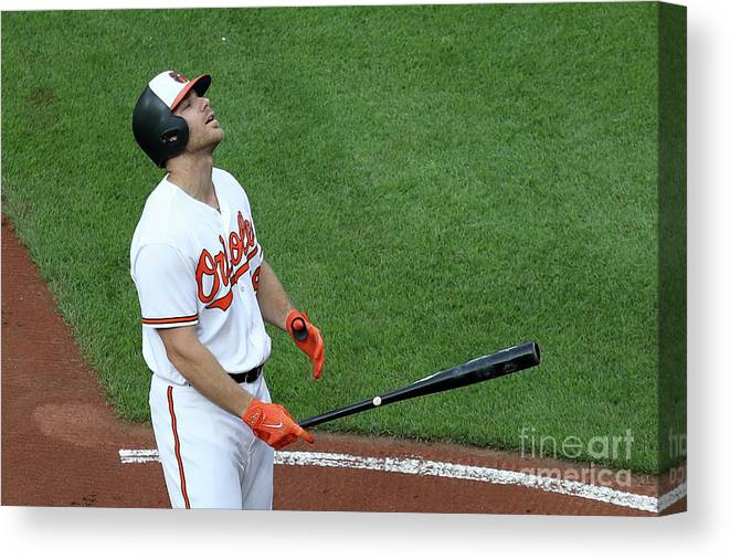 Three Quarter Length Canvas Print featuring the photograph Chris Davis by Rob Carr