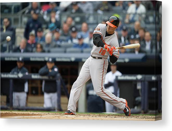 East Canvas Print featuring the photograph Chris Davis by Rob Tringali