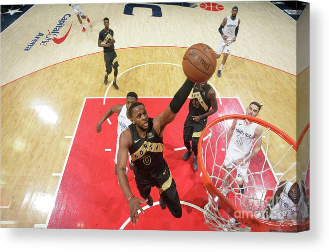 Playoffs Canvas Print featuring the photograph C.j. Miles by Ned Dishman