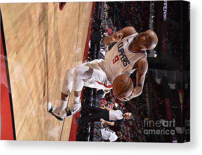 Nba Pro Basketball Canvas Print featuring the photograph C.j. Williams by Bill Baptist