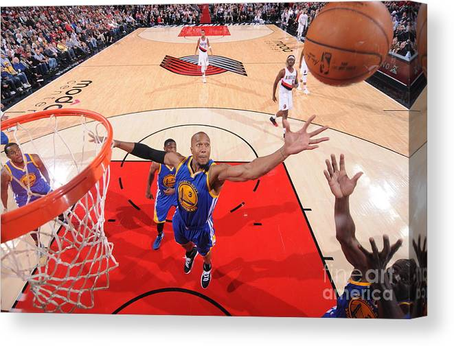 Nba Pro Basketball Canvas Print featuring the photograph David West by Sam Forencich