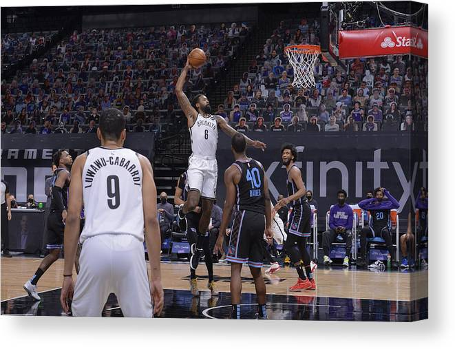 Nba Pro Basketball Canvas Print featuring the photograph Deandre Jordan by Rocky Widner