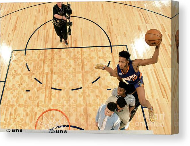 Event Canvas Print featuring the photograph Derrick Jones by Jesse D. Garrabrant