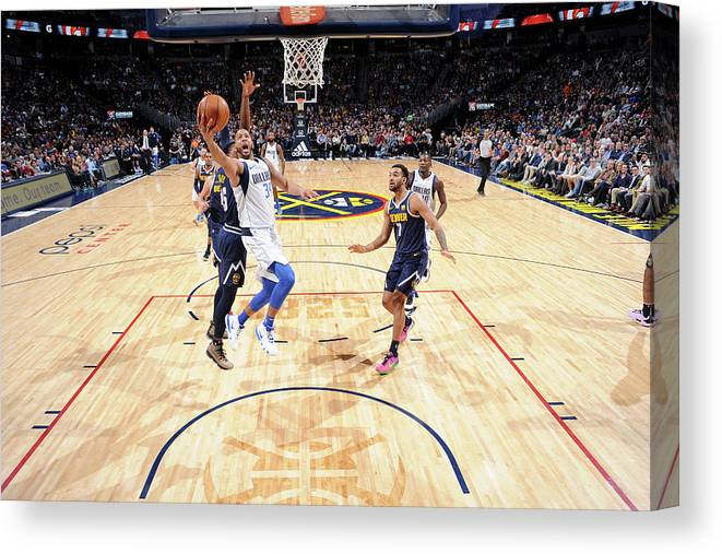 Nba Pro Basketball Canvas Print featuring the photograph Devin Harris by Bart Young