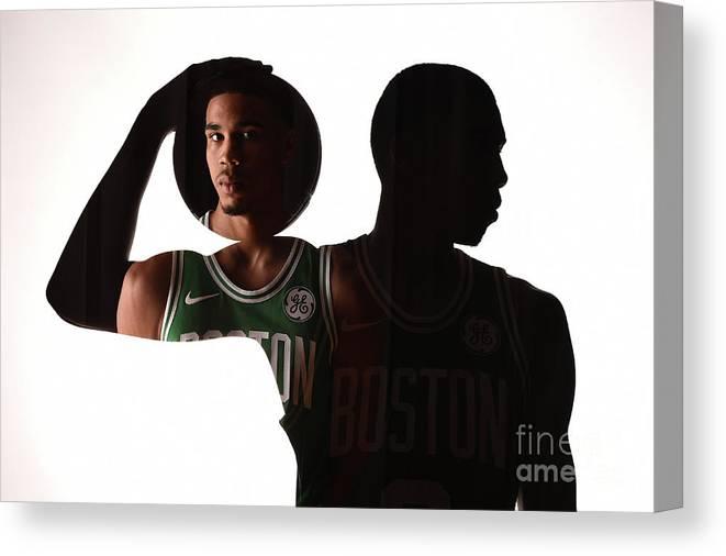 Nba Pro Basketball Canvas Print featuring the photograph D.j. Wilson by Brian Babineau