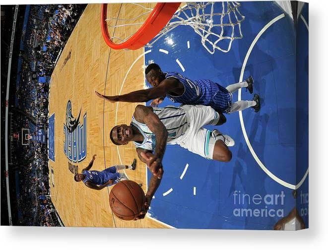 Nba Pro Basketball Canvas Print featuring the photograph Dwayne Bacon by Fernando Medina