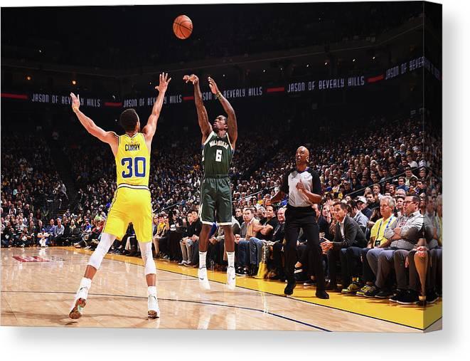 Nba Pro Basketball Canvas Print featuring the photograph Eric Bledsoe by Noah Graham