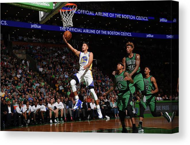 Nba Pro Basketball Canvas Print featuring the photograph Gerald Green by Brian Babineau