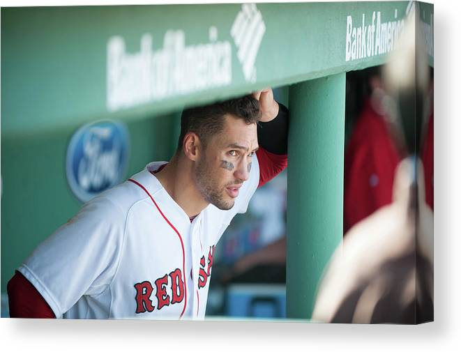 East Canvas Print featuring the photograph Grady Sizemore by Rob Tringali