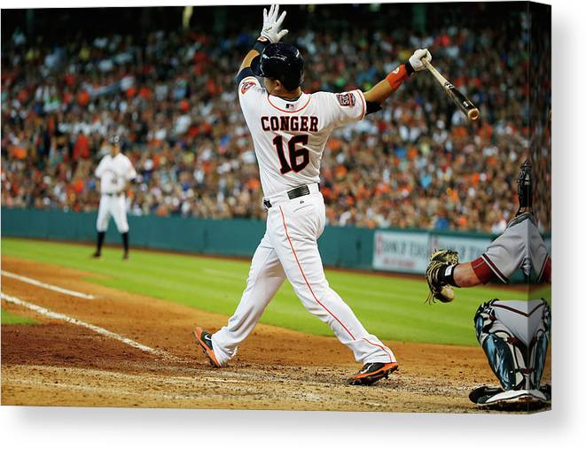 People Canvas Print featuring the photograph Hank Conger by Scott Halleran