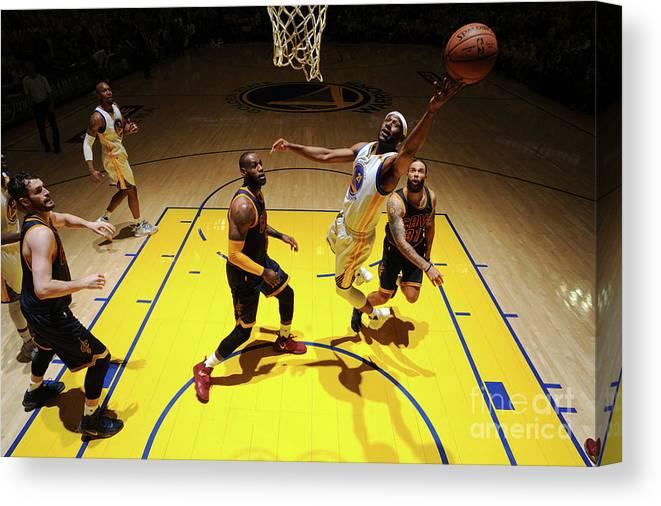 Playoffs Canvas Print featuring the photograph Ian Clark by Garrett Ellwood