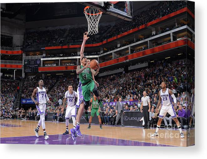 Nba Pro Basketball Canvas Print featuring the photograph Isaiah Thomas by Rocky Widner