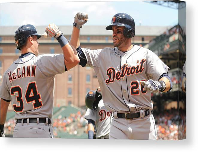 People Canvas Print featuring the photograph James Mccann by Mitchell Layton