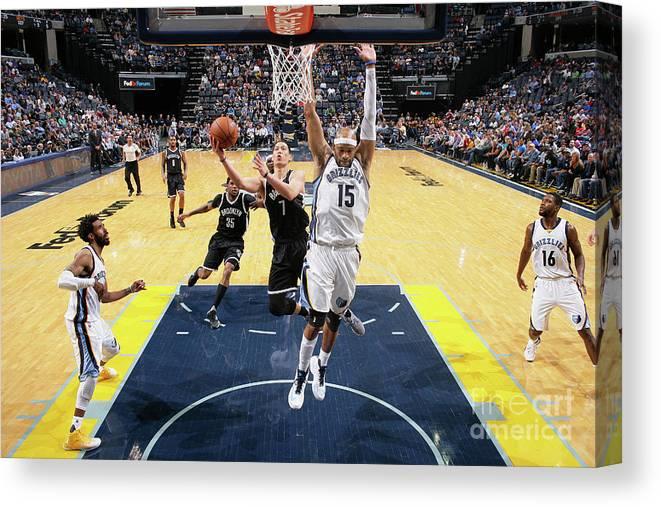 Nba Pro Basketball Canvas Print featuring the photograph Jeremy Lin by Joe Murphy