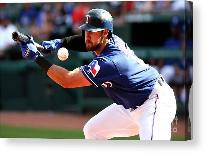 Three Quarter Length Canvas Print featuring the photograph Joey Gallo by Ron Jenkins