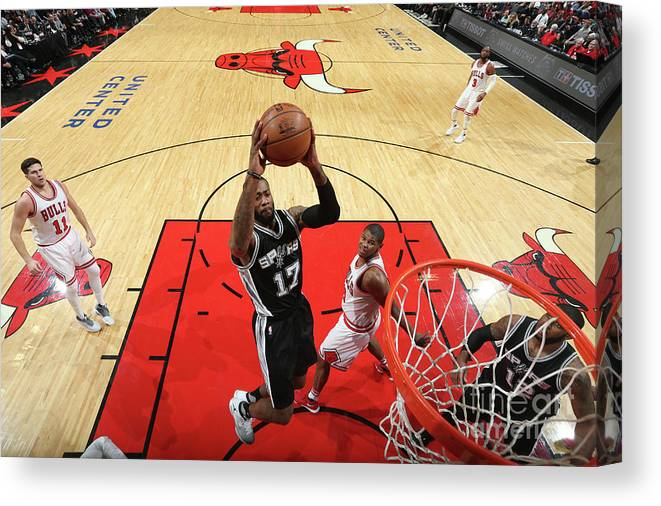 Nba Pro Basketball Canvas Print featuring the photograph Jonathon Simmons by Nathaniel S. Butler