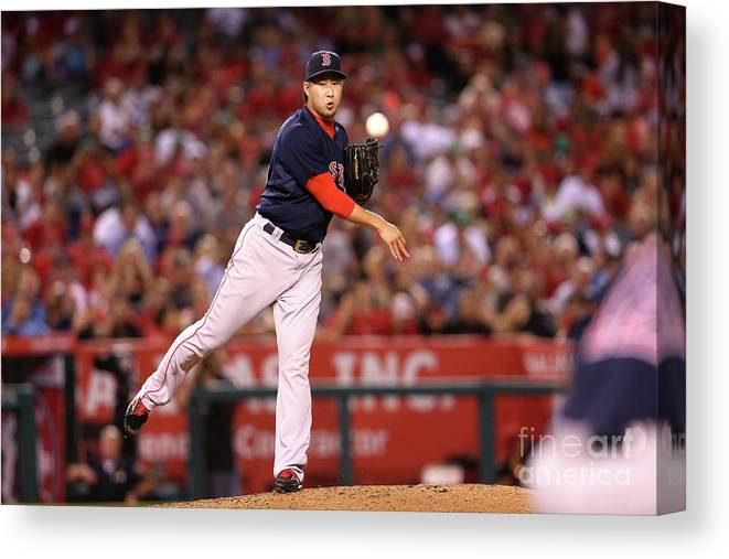 People Canvas Print featuring the photograph Junichi Tazawa by Stephen Dunn