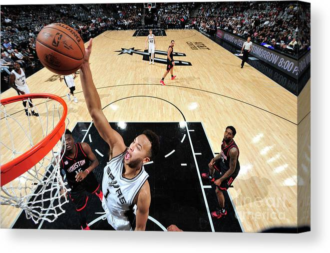 Playoffs Canvas Print featuring the photograph Kyle Anderson by Mark Sobhani