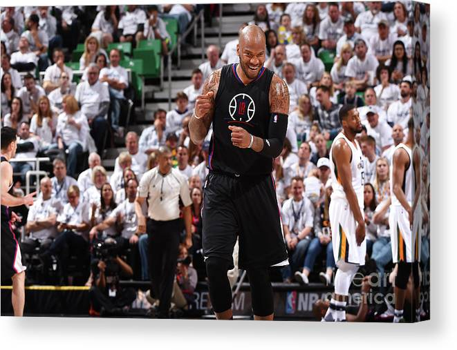 Playoffs Canvas Print featuring the photograph Marreese Speights by Andrew D. Bernstein