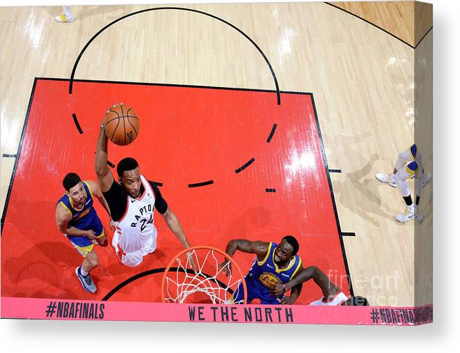Playoffs Canvas Print featuring the photograph Norman Powell by Jesse D. Garrabrant