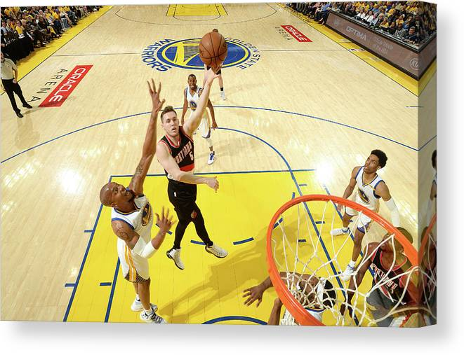 Playoffs Canvas Print featuring the photograph Pat Connaughton by Noah Graham