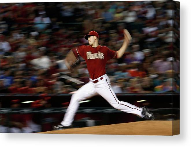 People Canvas Print featuring the photograph Patrick Corbin by Christian Petersen