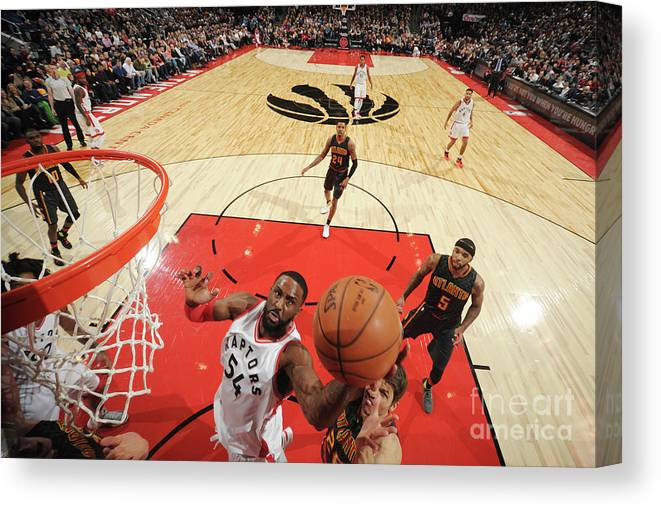 Patrick Patterson Canvas Print featuring the photograph Patrick Patterson by Ron Turenne