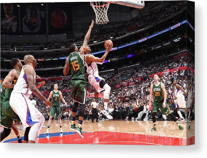 Playoffs Canvas Print featuring the photograph Paul Pierce by Andrew D. Bernstein