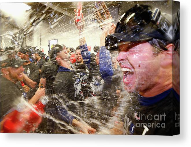 Championship Canvas Print featuring the photograph Rich Hill by Jamie Squire