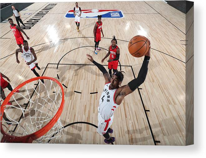 Nba Pro Basketball Canvas Print featuring the photograph Rondae Hollis-jefferson by Joe Murphy