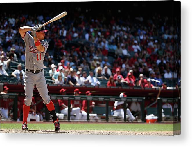 People Canvas Print featuring the photograph Ryan Zimmerman by Christian Petersen