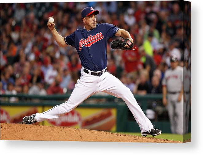 Scott Atchison Canvas Print featuring the photograph Scott Atchison by David Maxwell