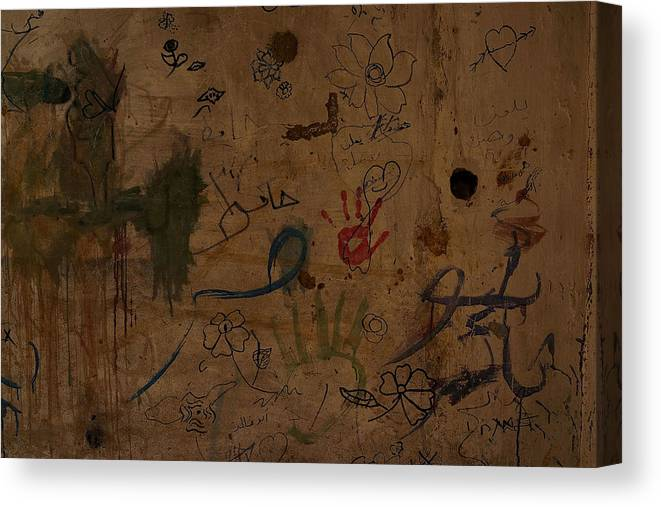 Child Canvas Print featuring the photograph Syrian Refugees Migrate To Beirut To Escape Violence by Spencer Platt