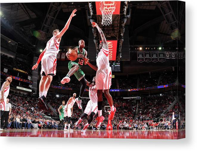 Nba Pro Basketball Canvas Print featuring the photograph Terry Rozier by Bill Baptist
