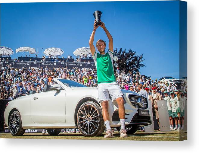 Mercedes Cup Canvas Print featuring the photograph The MercedesCup by Thomas Niedermueller