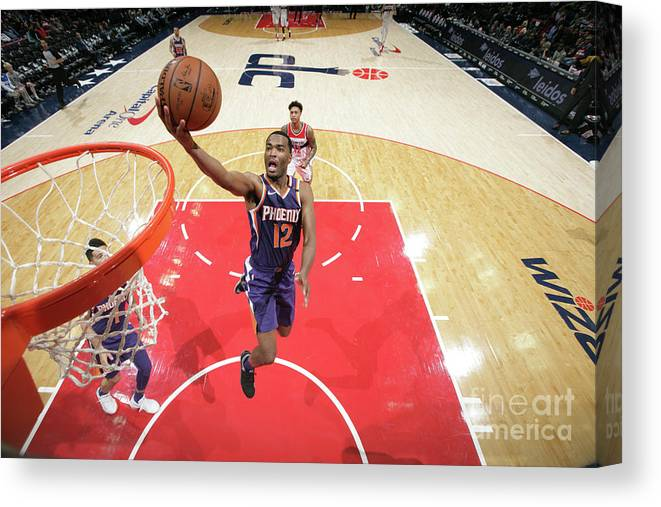 Nba Pro Basketball Canvas Print featuring the photograph T.j. Warren by Ned Dishman
