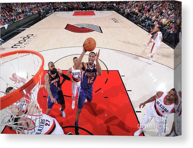 Nba Pro Basketball Canvas Print featuring the photograph T.j. Warren by Sam Forencich