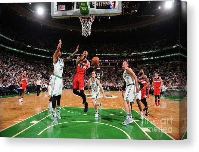 Nba Pro Basketball Canvas Print featuring the photograph Trey Burke by Brian Babineau