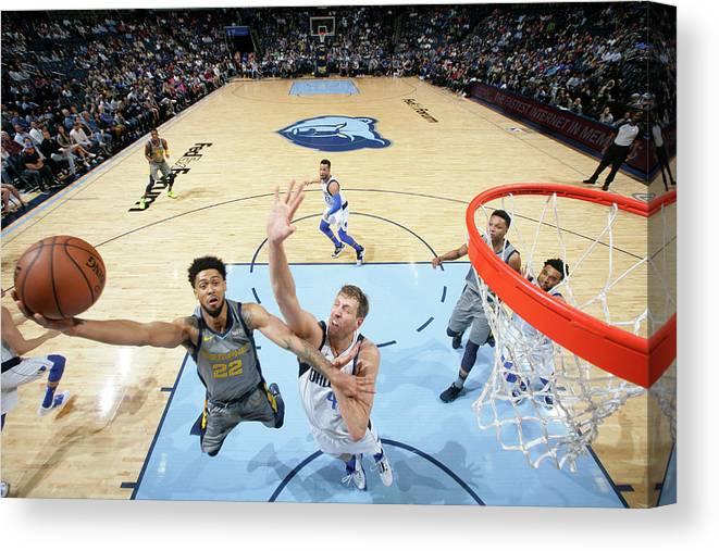 Nba Pro Basketball Canvas Print featuring the photograph Tyler Dorsey by Joe Murphy