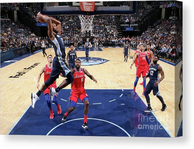 Nba Pro Basketball Canvas Print featuring the photograph Wayne Selden by Joe Murphy