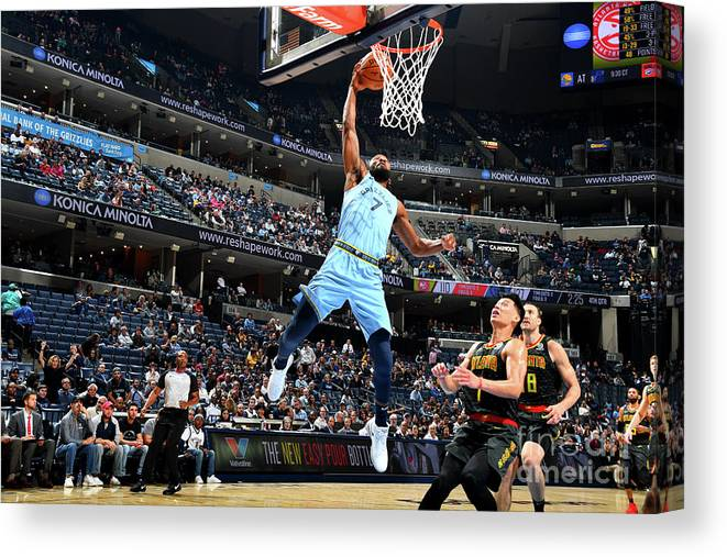 Nba Pro Basketball Canvas Print featuring the photograph Wayne Selden by Scott Cunningham