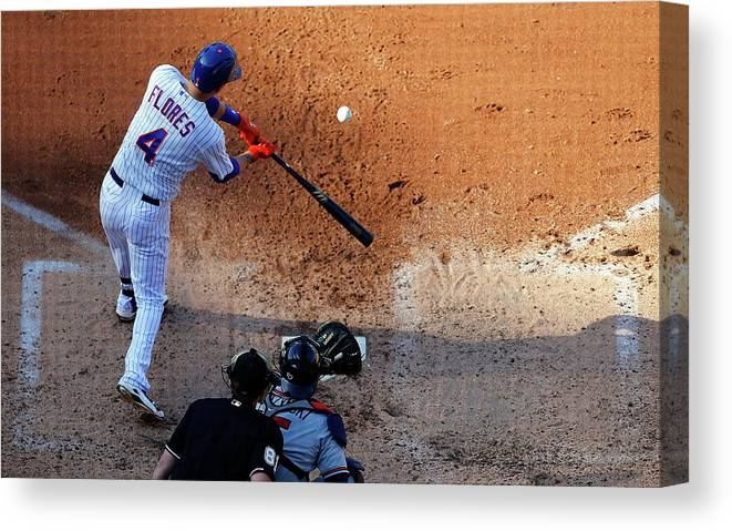 People Canvas Print featuring the photograph Wilmer Flores by Jim Mcisaac
