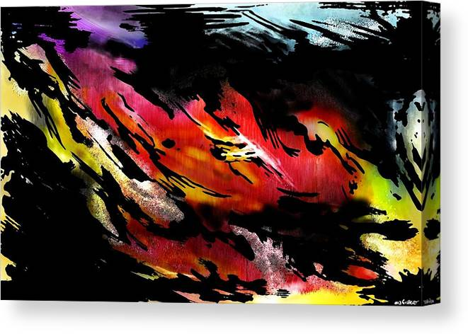 Brian Gilbert Canvas Print featuring the digital art Wcie 1 by Brian Gilbert
