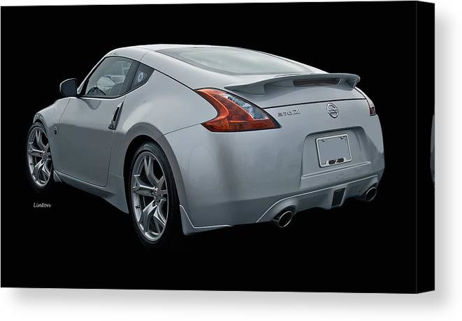 Nissan 370 Z Canvas Print featuring the photograph Z by Larry Linton
