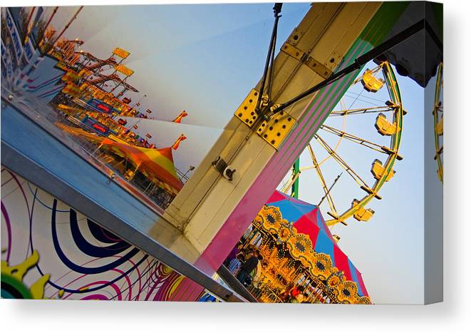 Carnival Canvas Print featuring the photograph Carnival 1 by Skip Hunt